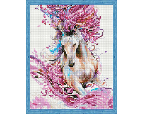 Алмазная вышивка Грациозная лошадь 40*50