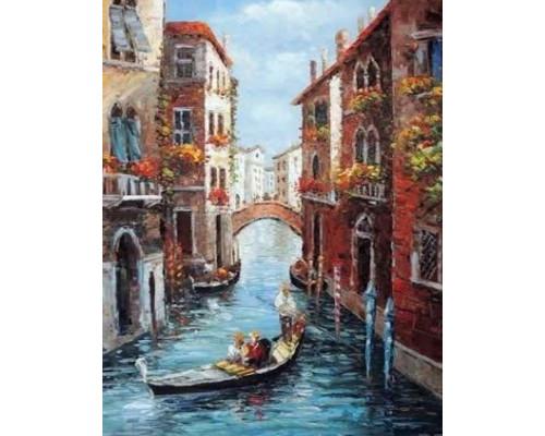 Алмазная вышивка Венецианский карнавал 50*65