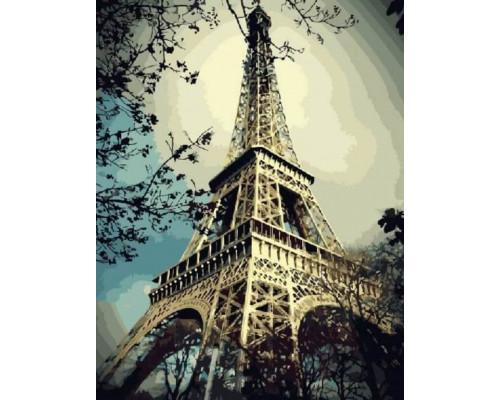 Алмазная вышивка Магия Парижа (без подрамника), 30*40