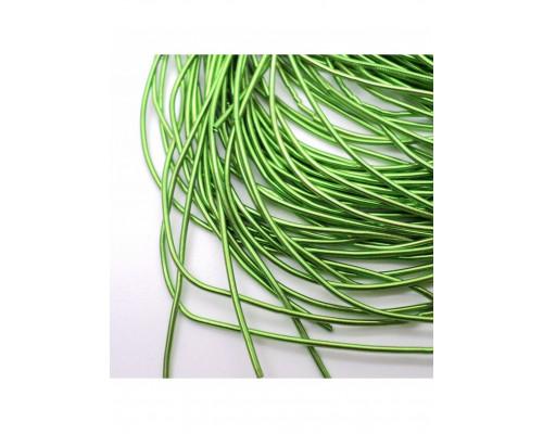 Канитель гладкая зеленый д1мм