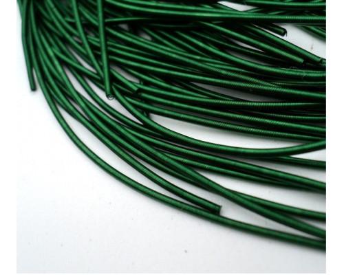 Канитель гладкая темно-зеленый д1мм