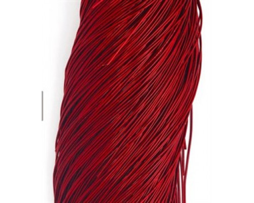 Канитель гладкая темно-красный д1мм