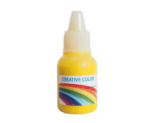 Краситель (жидкий), Желтый Creative-Color