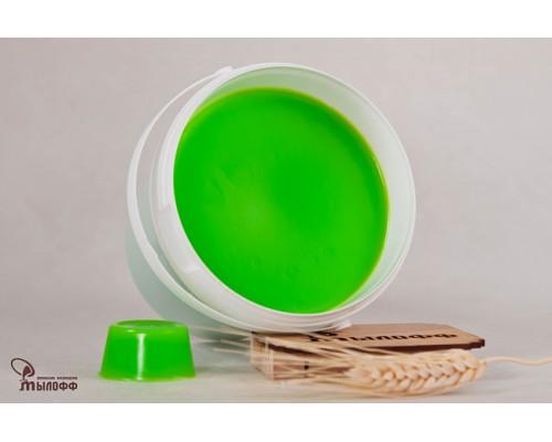 Мыльная основа COLOR LIME, цвет светло-зеленый, 100 гр.