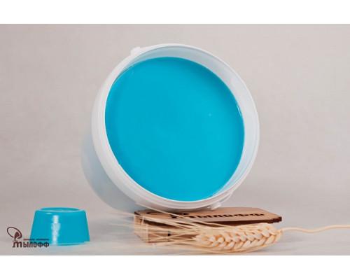Мыльная основа COLOR TIFFANY , цвет бирюзовый, 100 гр.