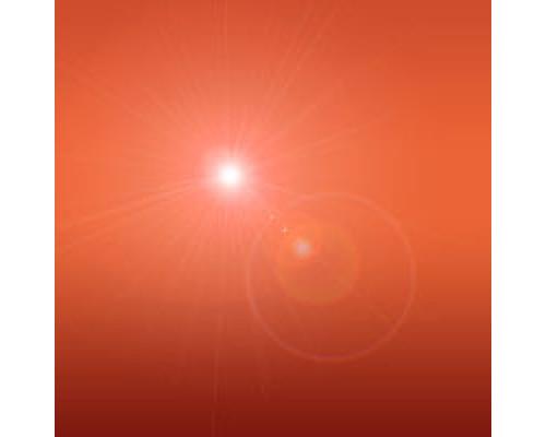 Пигмент гелевый, Красно-оранжевый перламутровый