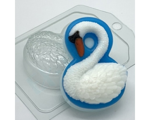 Форма для мыла пластиковая, 8 марта - Лебедь
