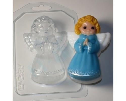 Форма для мыла пластиковая, Ангелочек