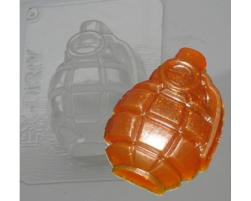 Форма для мыла пластиковая, Граната