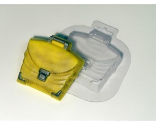 Форма для мыла пластиковая, Портфель