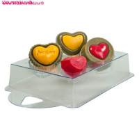 Форма пластиковая, Шоколадное признание (конфетки)