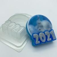 Форма для мыла пластиковая, 2021 - Круг под в/бумагу