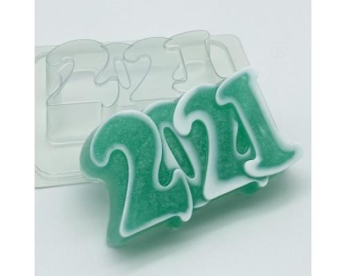 Форма для мыла пластиковая, 2021