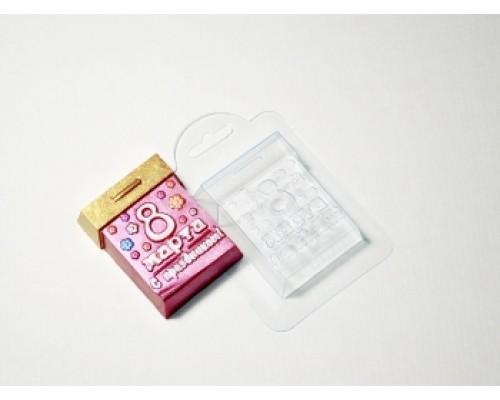 Форма для мыла пластиковая, Календарь 8 марта