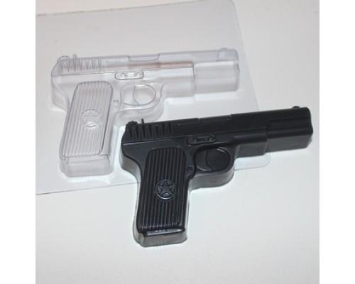 Форма для мыла пластиковая, Пистолет