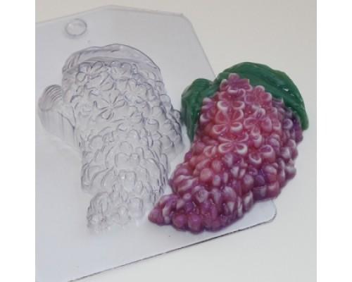 Форма для мыла пластиковая, Сирень