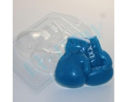 Форма для мыла пластиковая, Боксерские перчатки