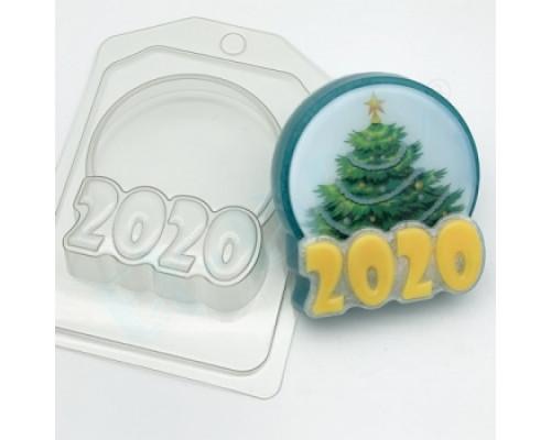 Форма для мыла пластиковая, 2020 - Круг под водорастворимку
