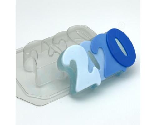 Форма для мыла пластиковая, 2020