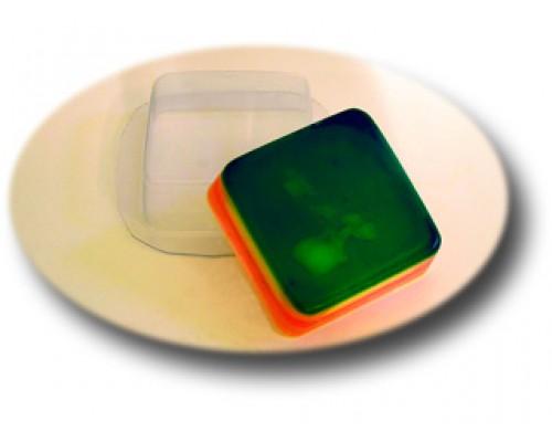 Форма для мыла пластиковая, Квадрат МФ