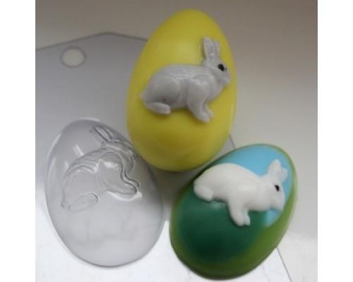 Форма для мыла пластиковая, Яйцо Кролик