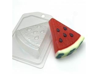 Форма для мыла пластиковая, Арбуз - Ломтик