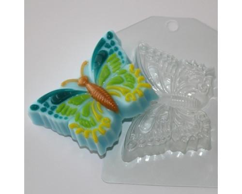 Форма для мыла пластиковая, Бабочка