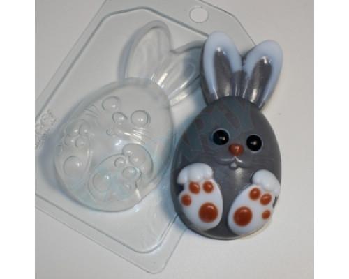 Форма для мыла пластиковая, Кролик мультяшный