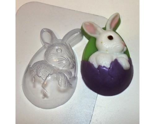 Форма для мыла пластиковая, Кролик пасхальный