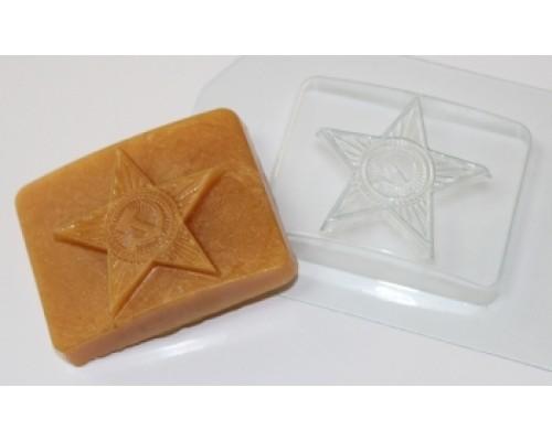 Форма для мыла пластиковая, Бляха