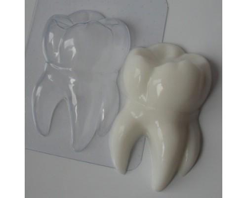 Форма для мыла пластиковая, Зубик