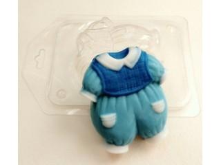 Форма для мыла пластиковая, Костюмчик для мальчика