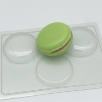 Форма для мыла пластиковая, Макарон D70мм