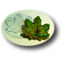 Форма для мыла пластиковая, Кленовый лист