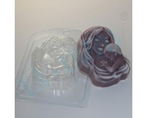 Форма для мыла пластиковая, Мать и дитя