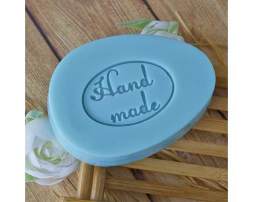 """Силиконовый штамп для мыла """"Hand Made"""""""