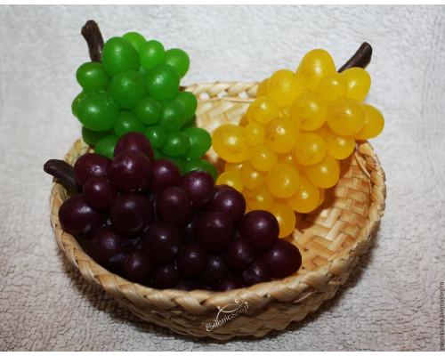 Силиконовая форма для мыла, Виноград
