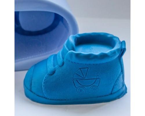 Силиконовая форма для мыла, Ботиночек 3D
