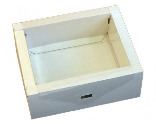 Подарочная коробка с пластиковой крышкой