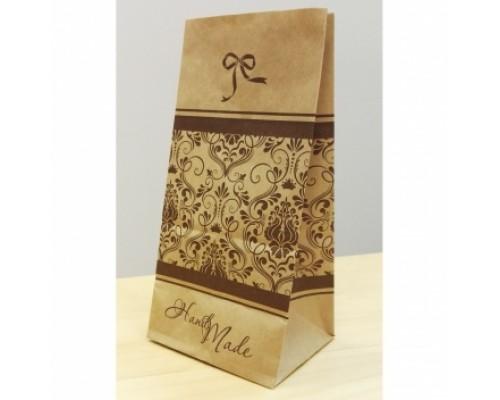 Крафт пакет Hand made, 100х70х200