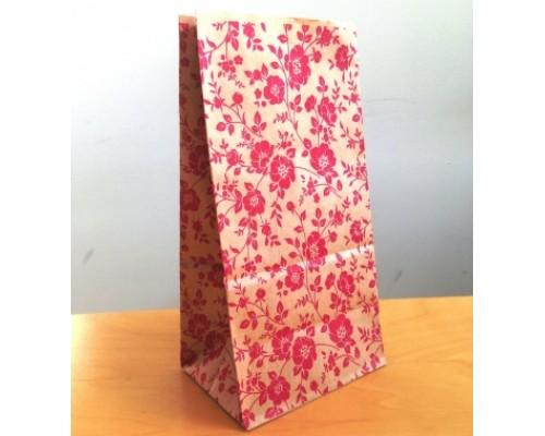 Крафт пакет Flowers, 100х70х200