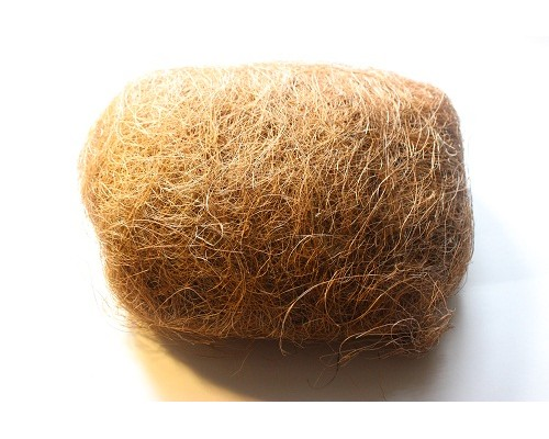 Сизалевое волокно, цвет светло-коричневый