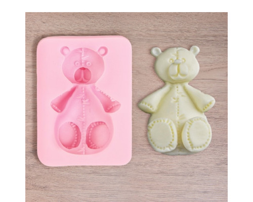 "Молд 6,5х5х1,8 см ""Медведь"""