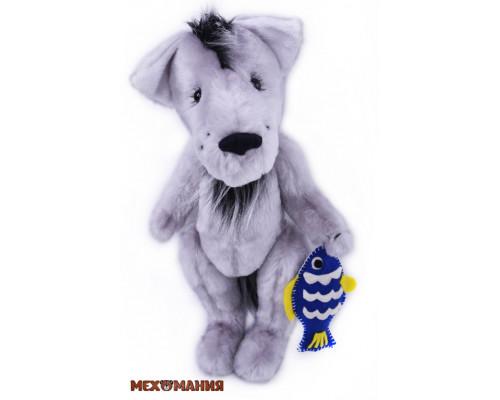 Набор для пошива игрушки Грустный волк (ММ-025) Мехомания