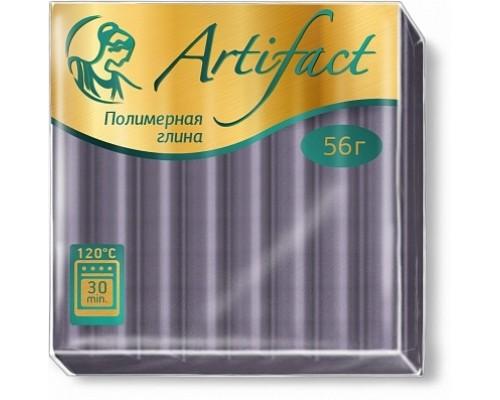 """Полимерная глина """"Артефакт"""", цв. Металлик Серебро, 695"""