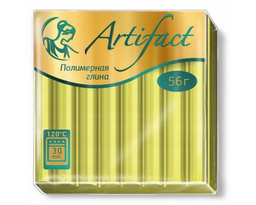 """Полимерная глина """"Артефакт"""", цв. Флуоресцентный Лимонный, 334"""
