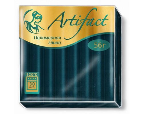 """Полимерная глина """"Артефакт"""", цв. Классический изумрудный, 151"""