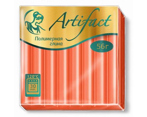 """Полимерная глина """"Артефакт"""", цв. Классический оранжевый, 122"""