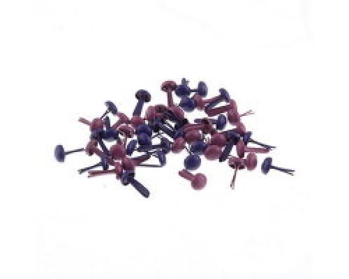 Набор брадсов BRD01 4,5*8 мм 07-A Фиолетовый 50 шт