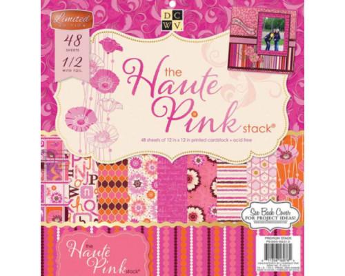 Набор бумаги 30*30 см Haute Pink